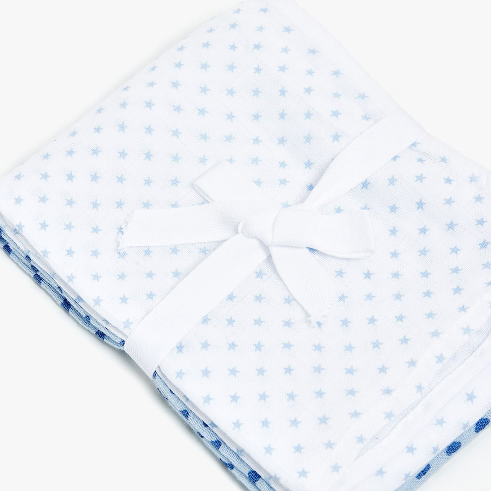 BABY CLOTHS WITH CLOUDS AND STARS