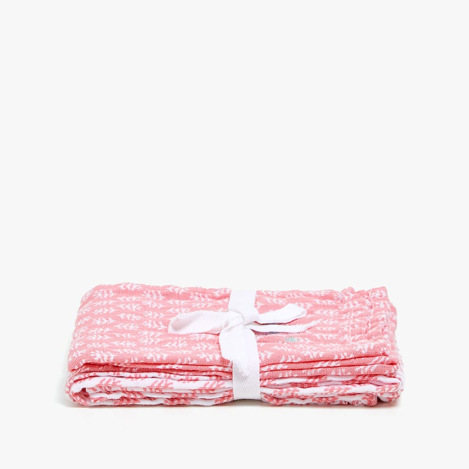 PRINTED BABY CLOTHS (SET OF 2)