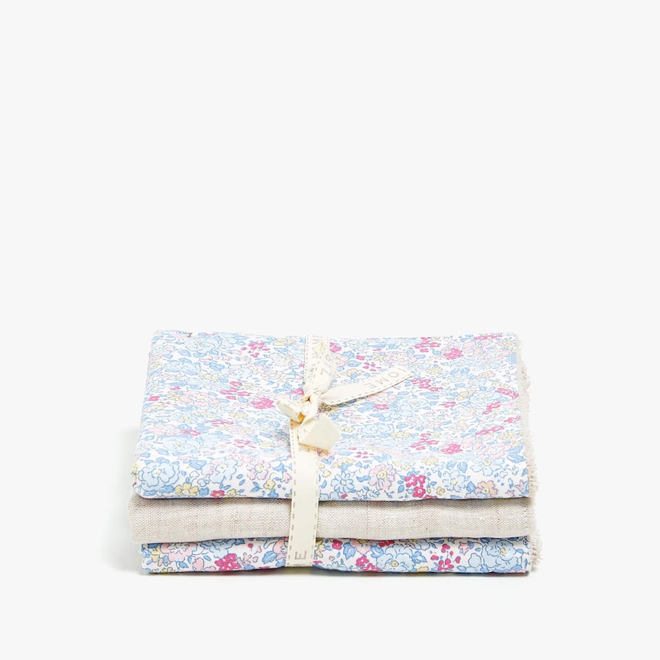 FLORAL PRINT TOWEL (SET OF 3)