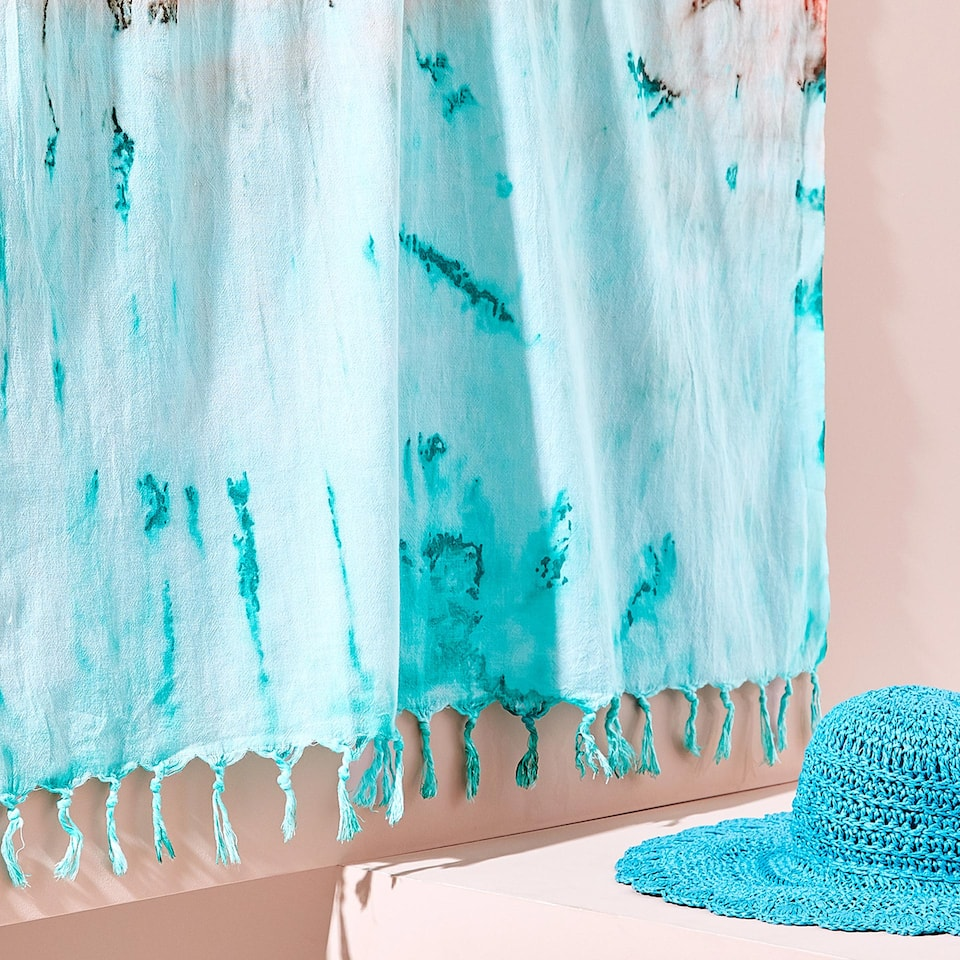 TIE-DYE COTTON TOWEL