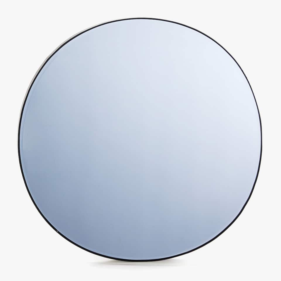 BLUEISH GLASS MIRROR