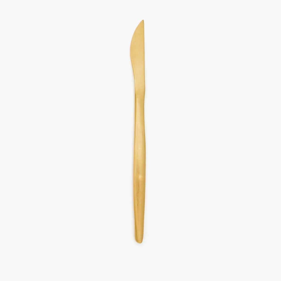 Golden table knife