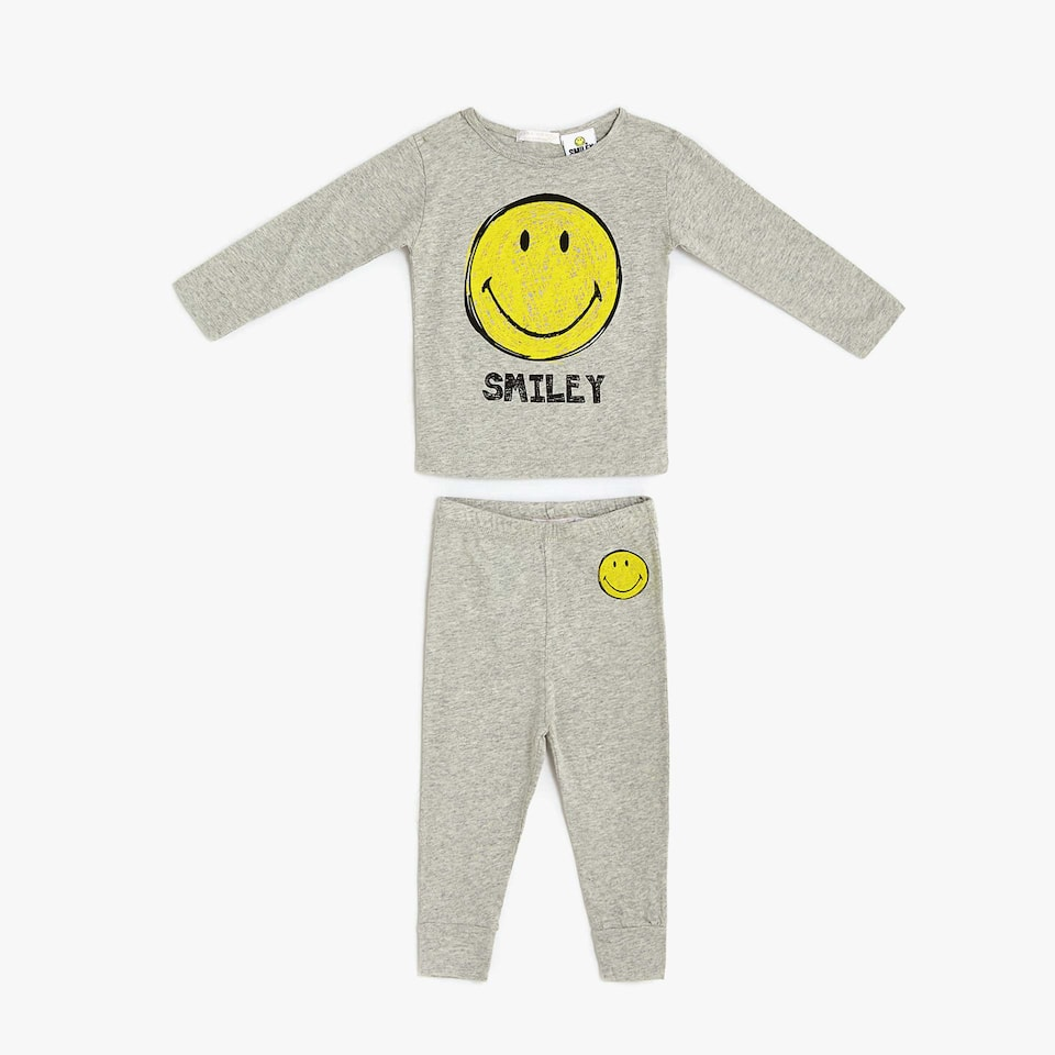SMILEY COTTON PYJAMAS