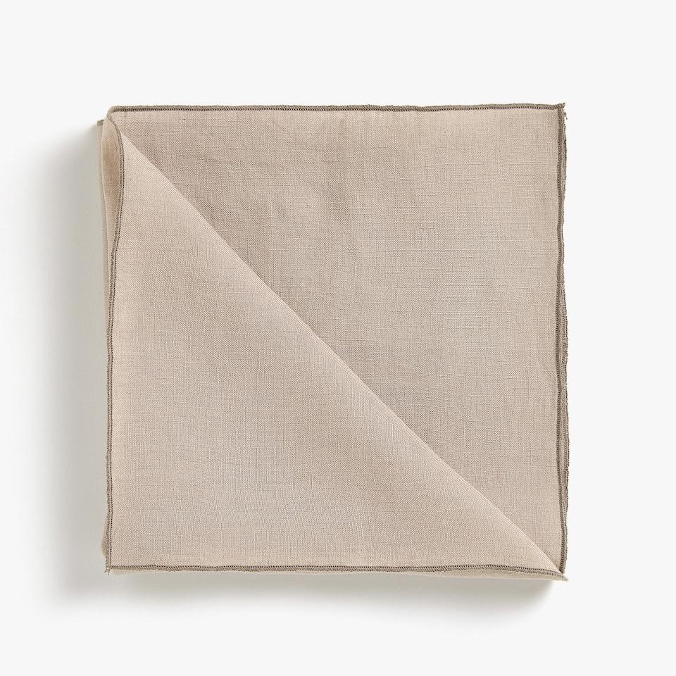 Washed linen napkins (set of 2)