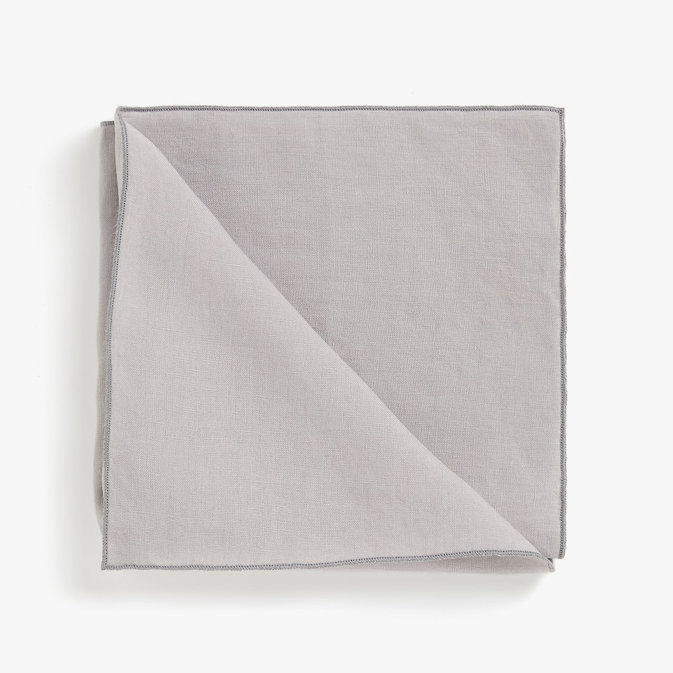 Washed linen napkins (set of 2)