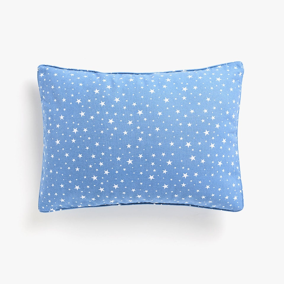 Kids cushion cover with stars
