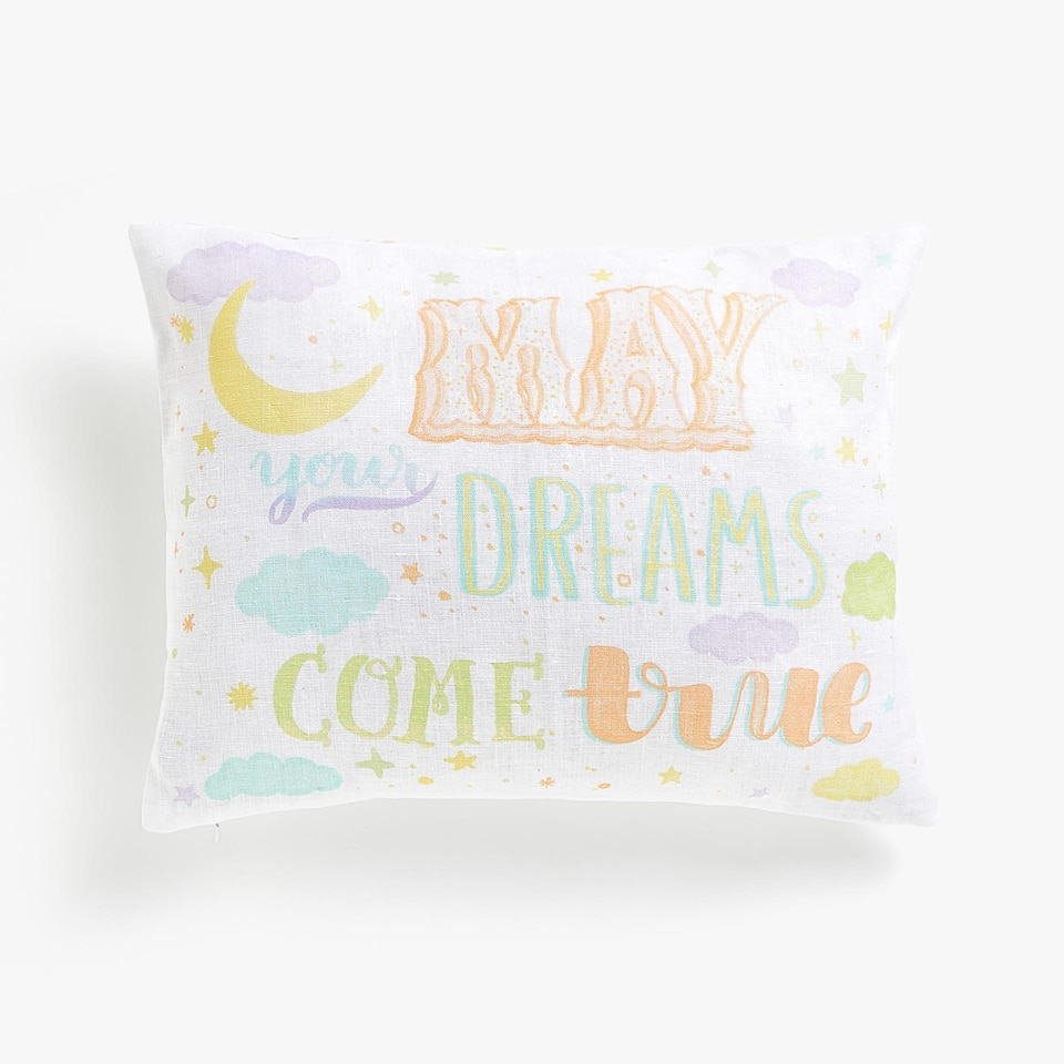 Kids cushion cover