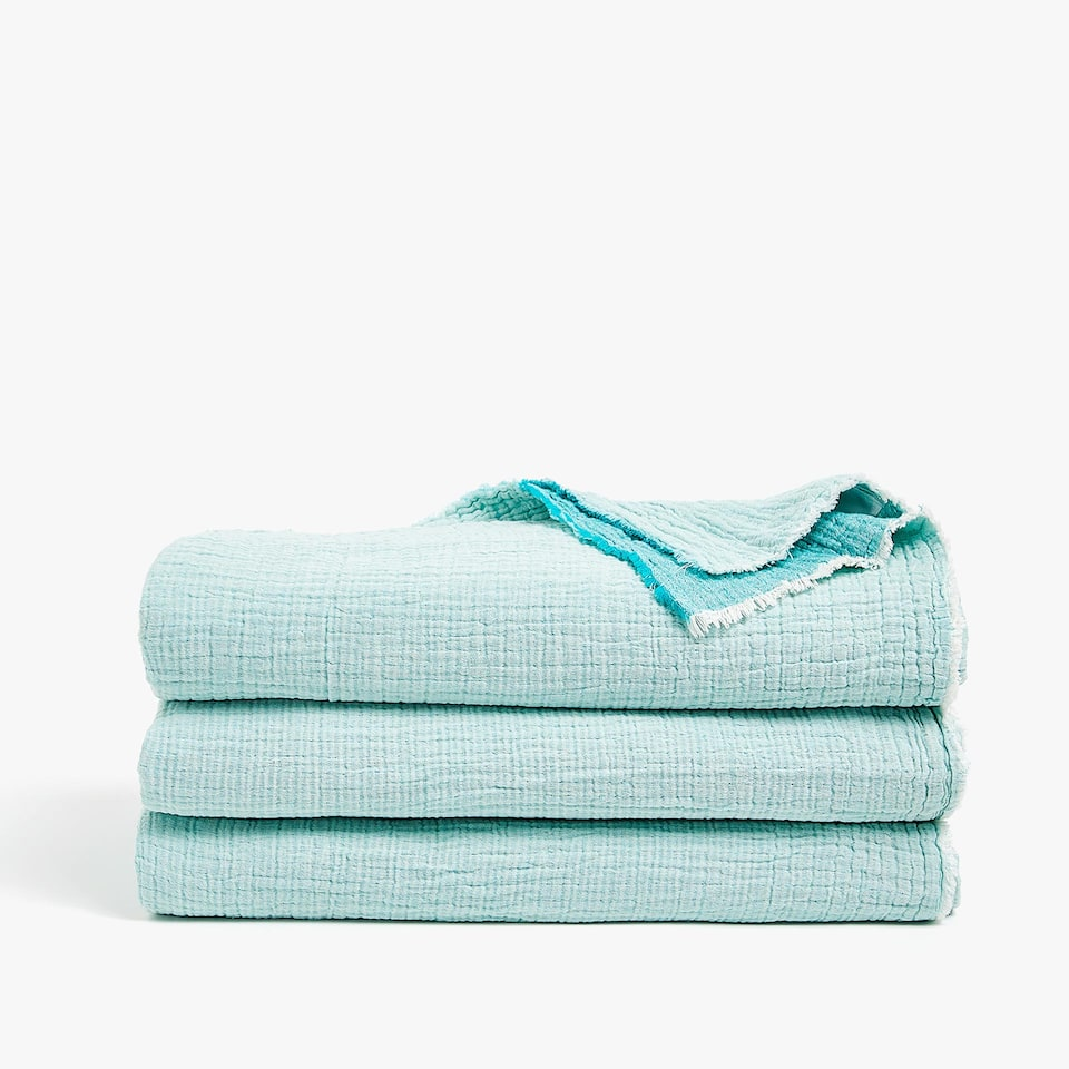 REVERSIBLE COTTON BEDSPREAD