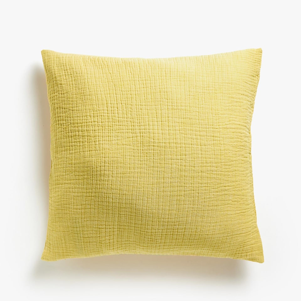 REVERSIBLE COTTON CUSHION COVER
