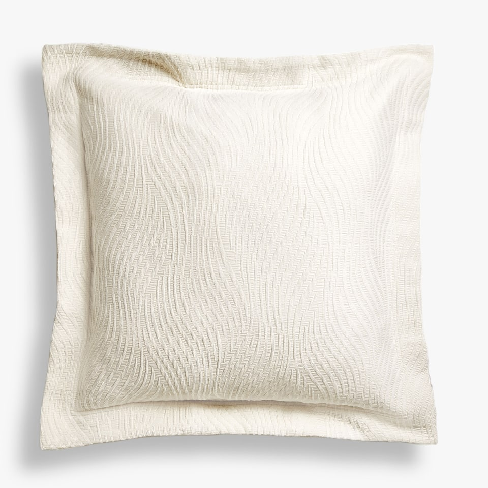 CHENILLE-FEEL WAVY CUSHION COVER