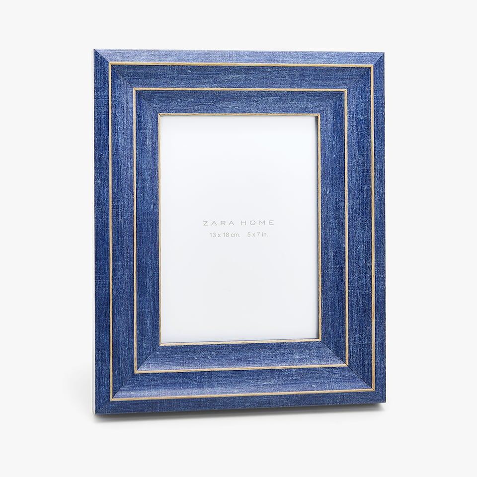 DOUBLE EDGE RESIN FRAME