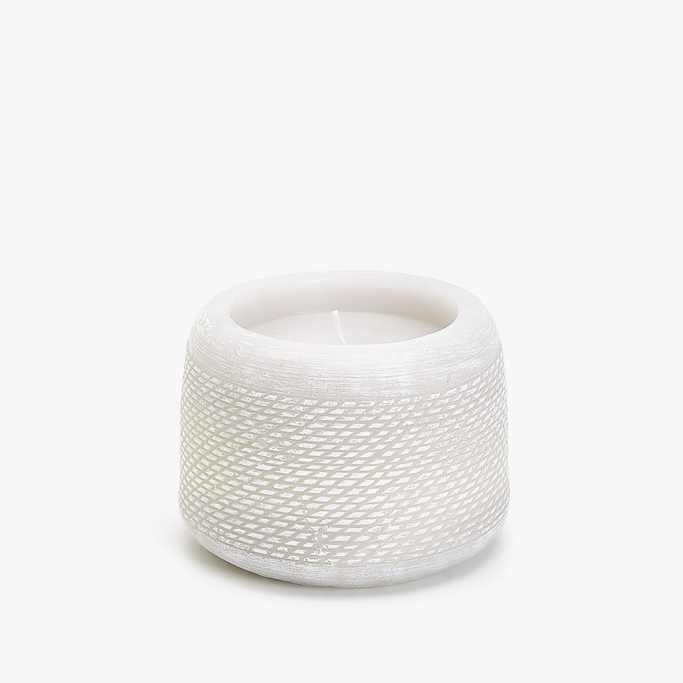 RAISED ROPE DESIGN CANDLE