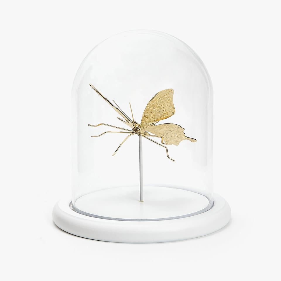 DECORATIVE INSECT BELL JAR