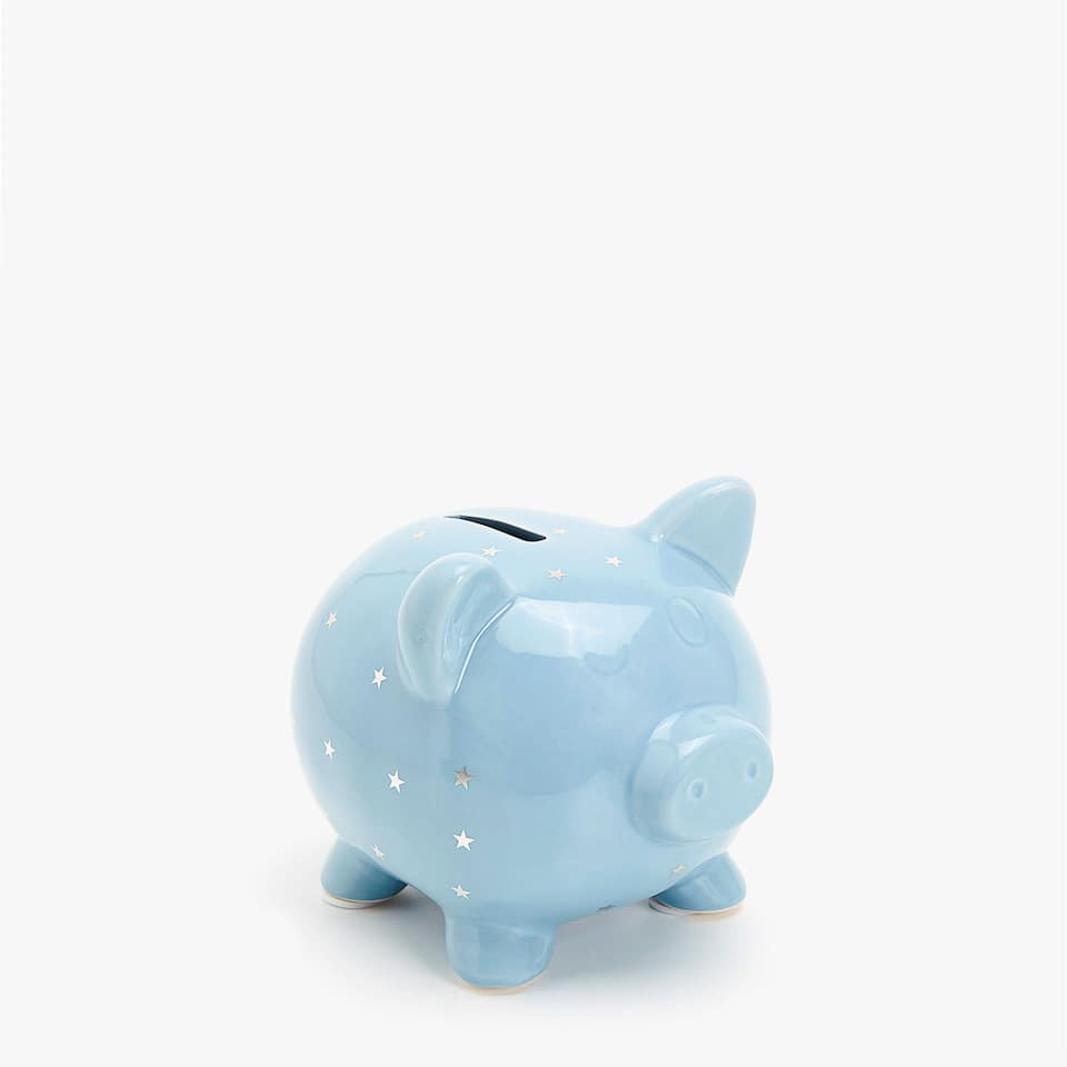 STAR PRINT PIGGY BANK