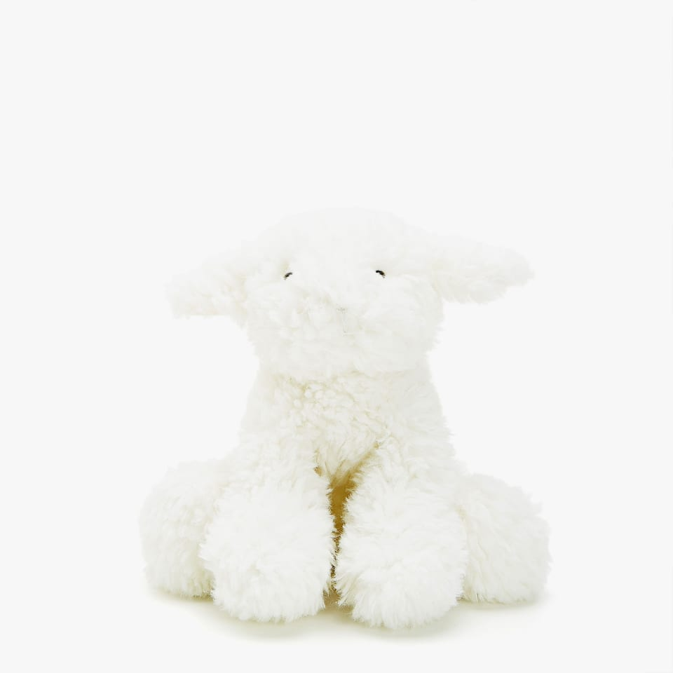 SEATED LAMB SOFT TOY