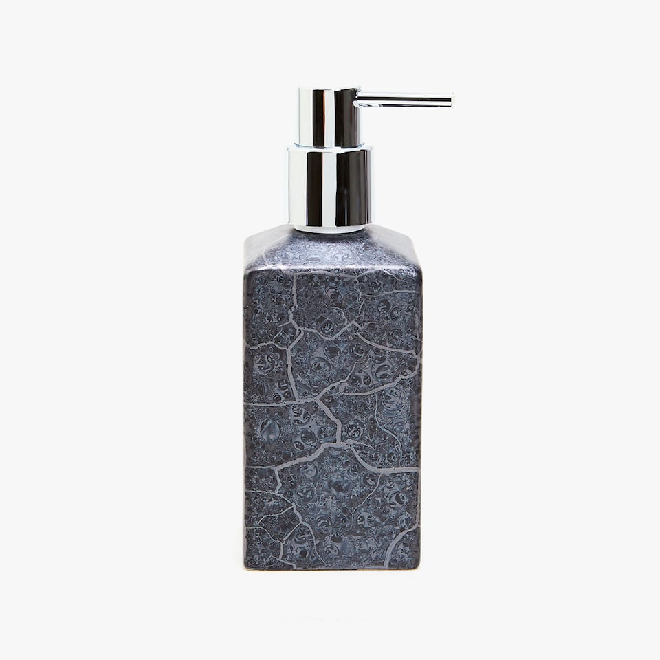 MARBLE-EFFECT CERAMIC DISPENSER