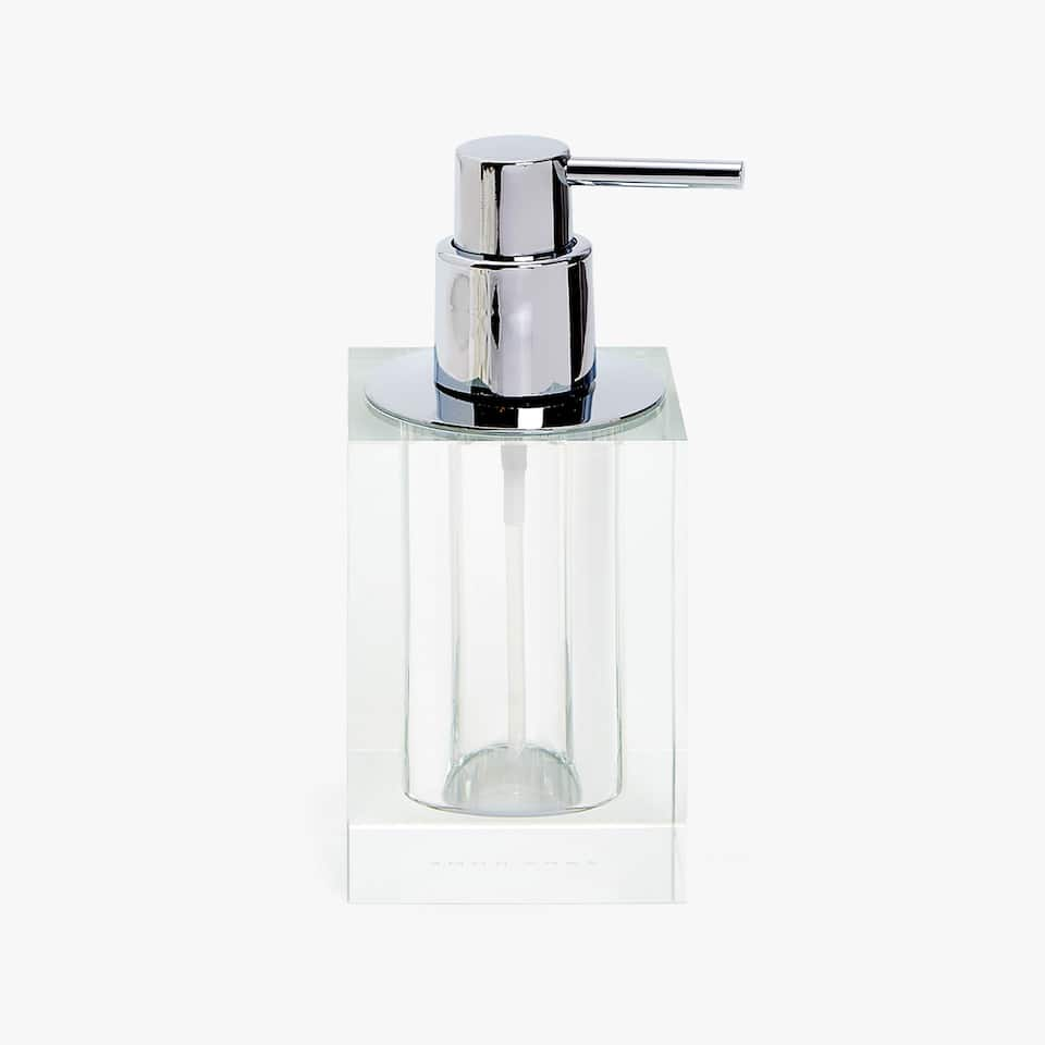 CLEAR GLASS DISPENSER