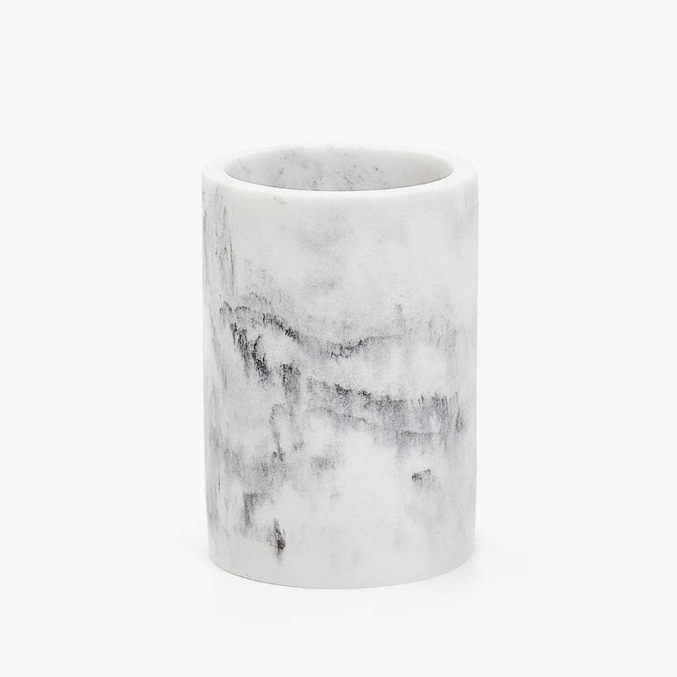 MARBLE-EFFECT TUMBLER