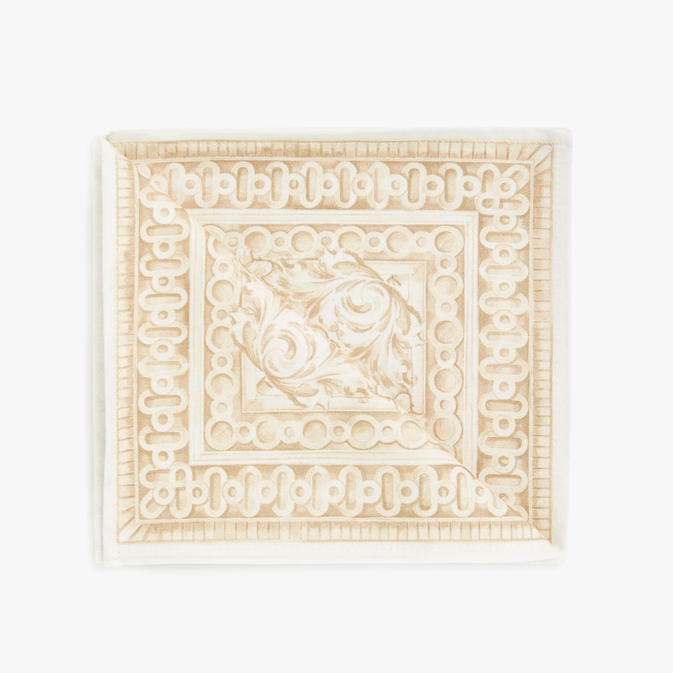 Printed cotton napkins (set of 4)