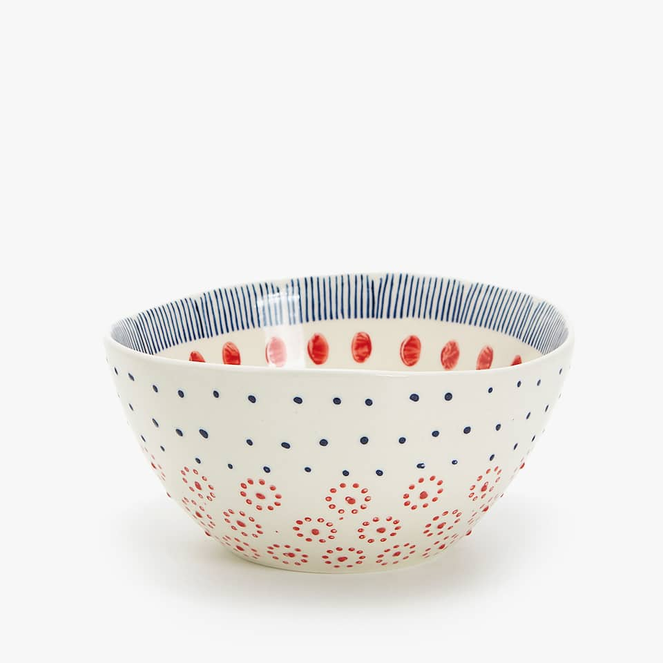 BOWL GRES ESTAMPADO