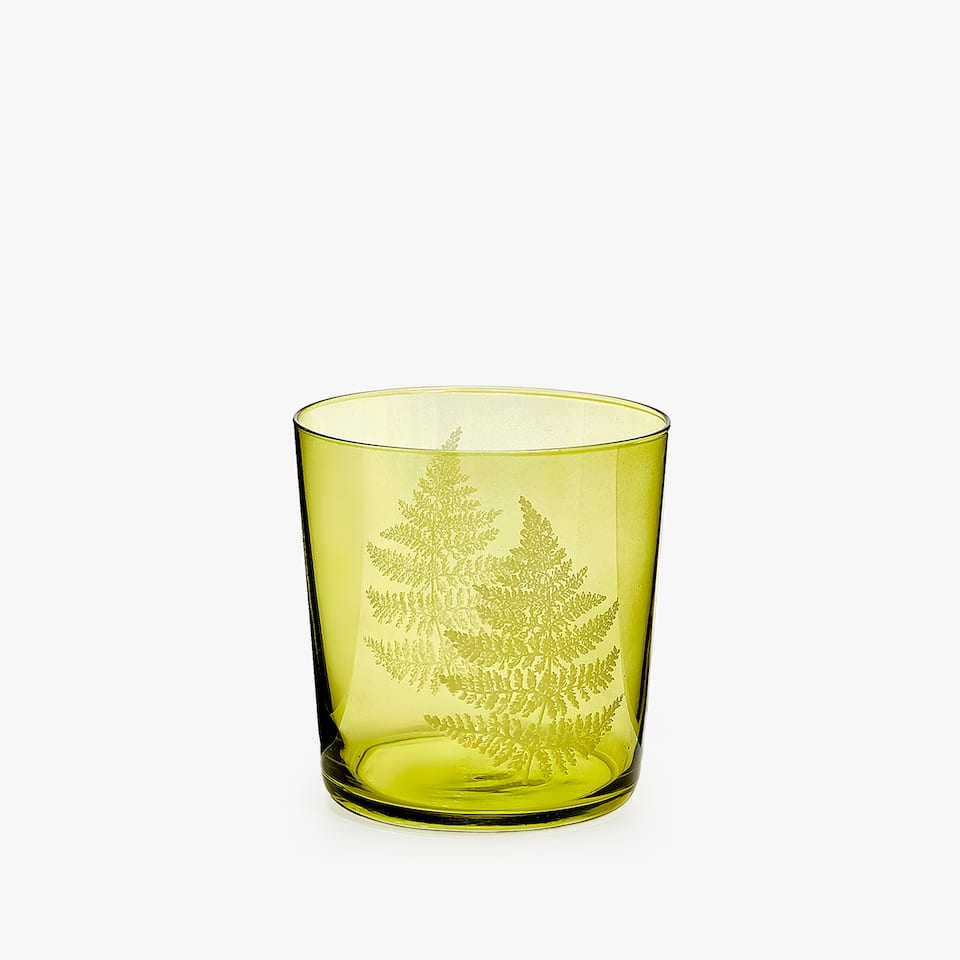 GREEN FERNS TRANSFER TUMBLER