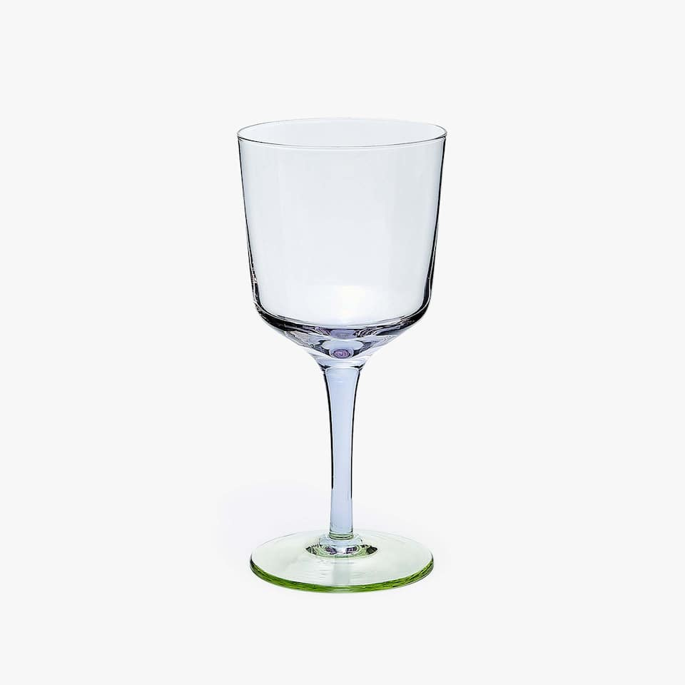TWO-TONE WINE GLASS
