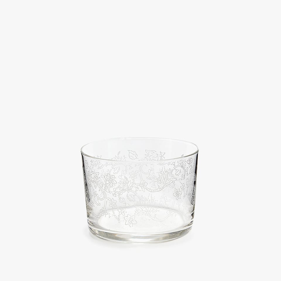 WHITE TRANSFER DESIGN WINE TUMBLER