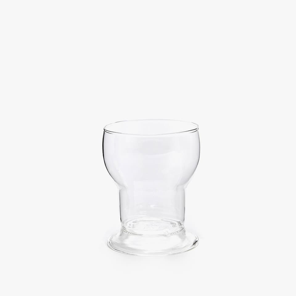 ROUND BOROSILICATE GLASS TUMBLER