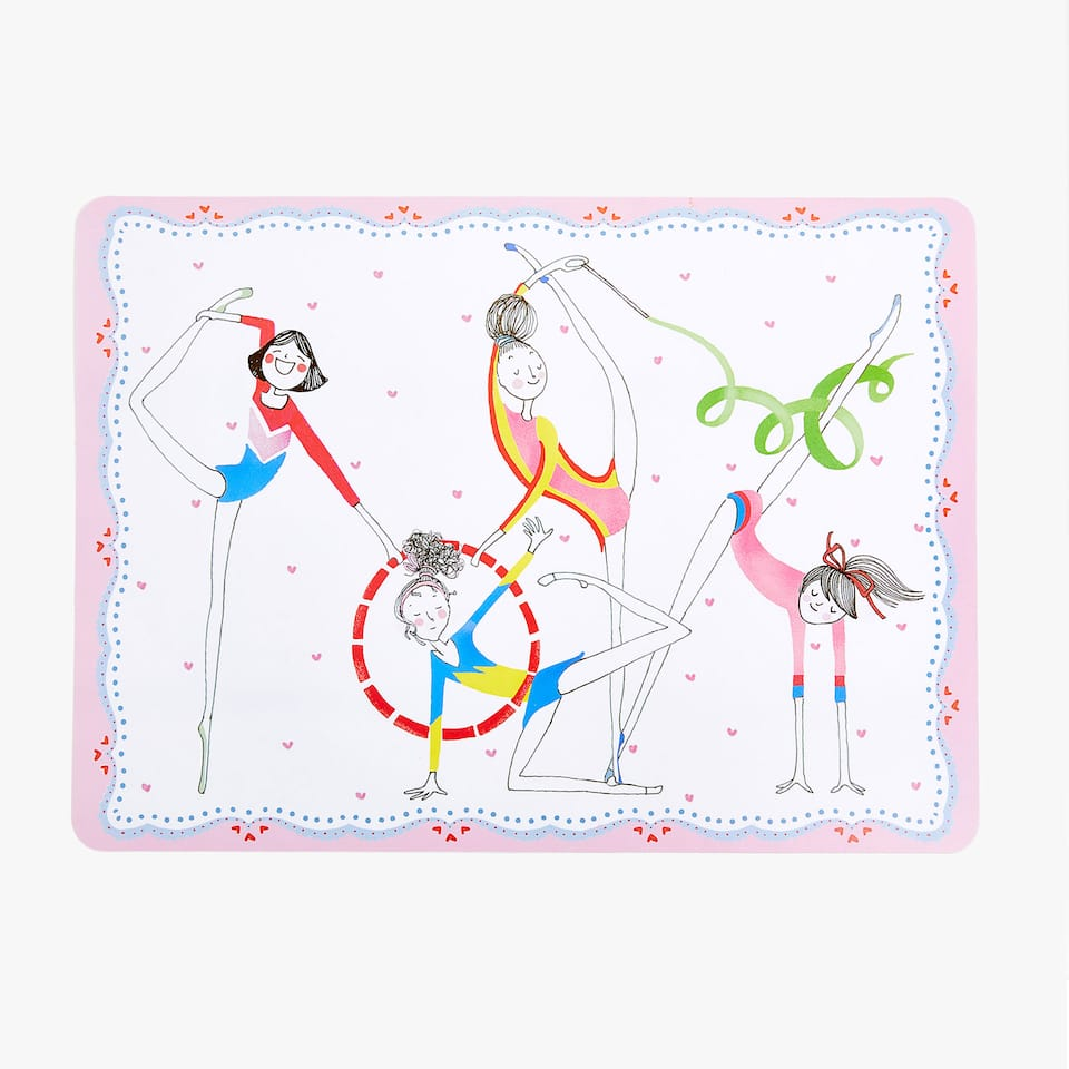 GYMNASTS PLACEMAT