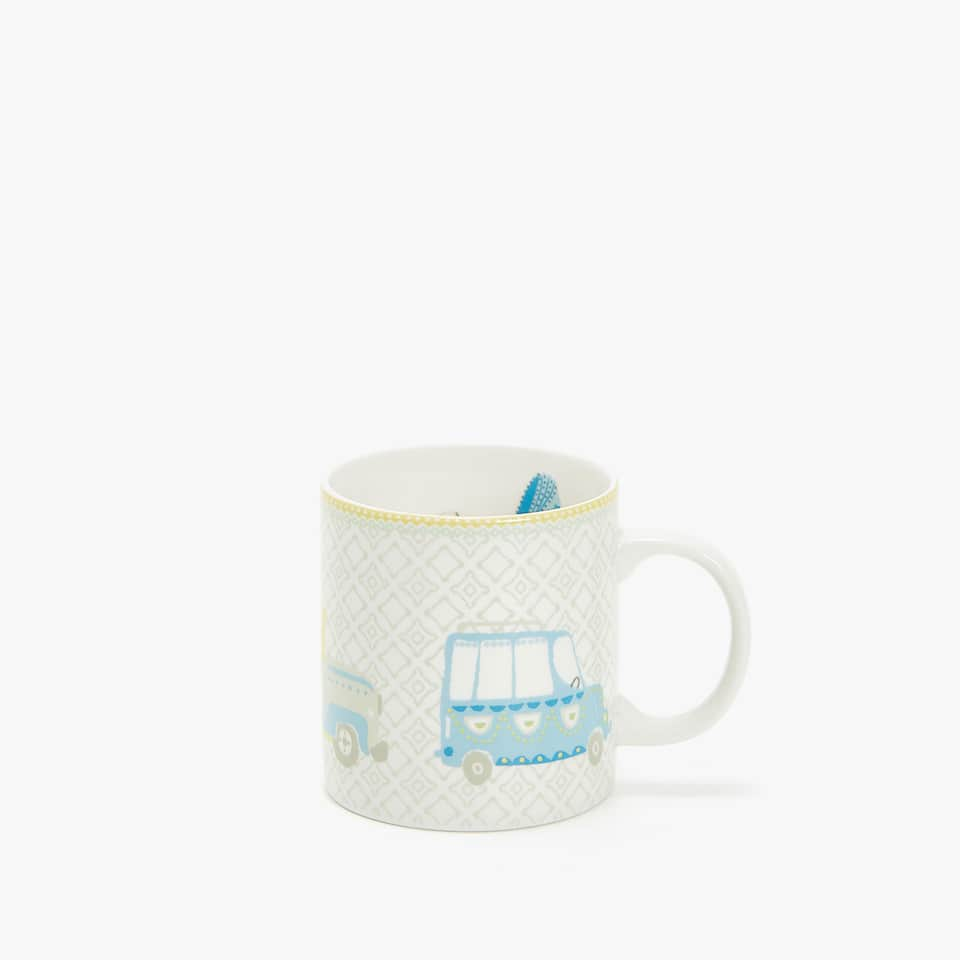 VEHICLES MUG