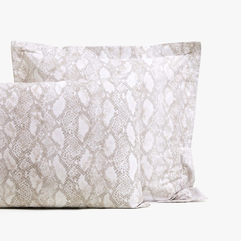 SNAKESKIN PRINT PILLOWCASE
