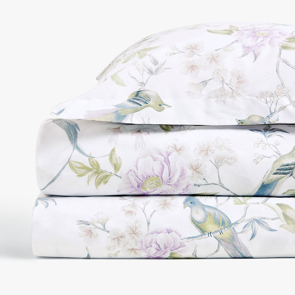 BOTANICAL PRINT DUVET COVER