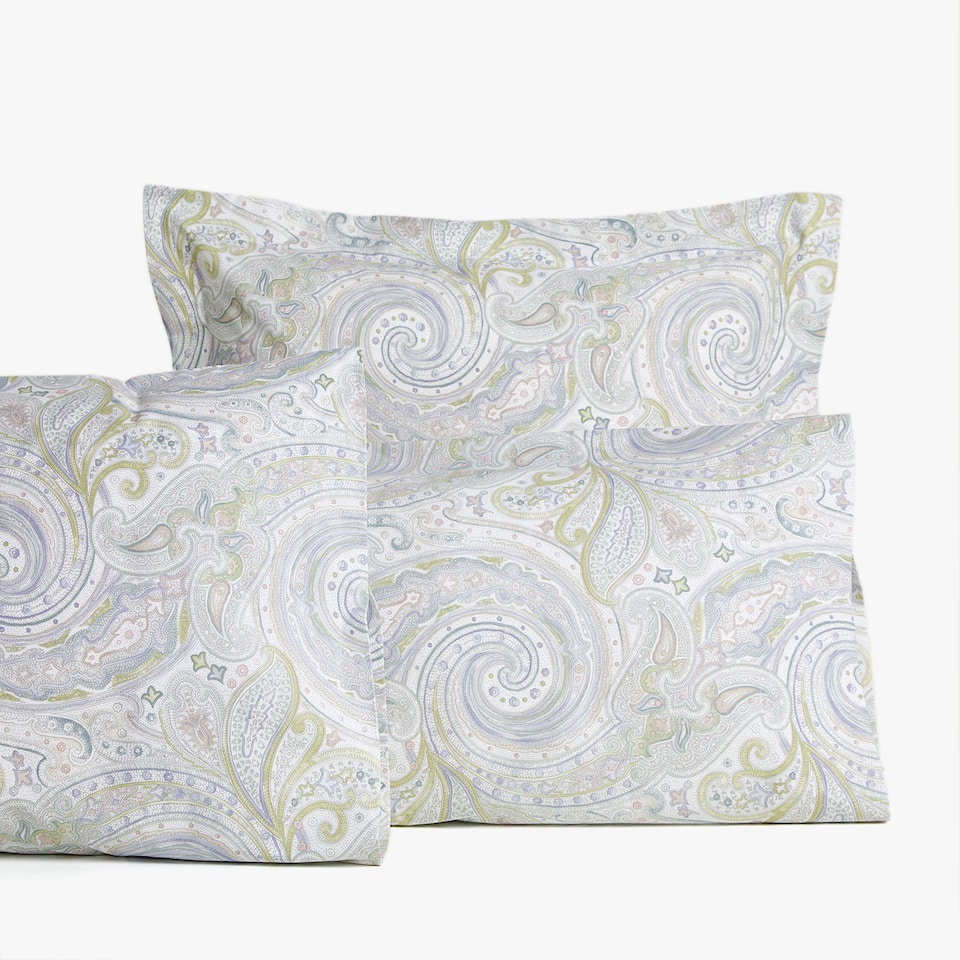 PAISLEY PRINT PILLOWCASE