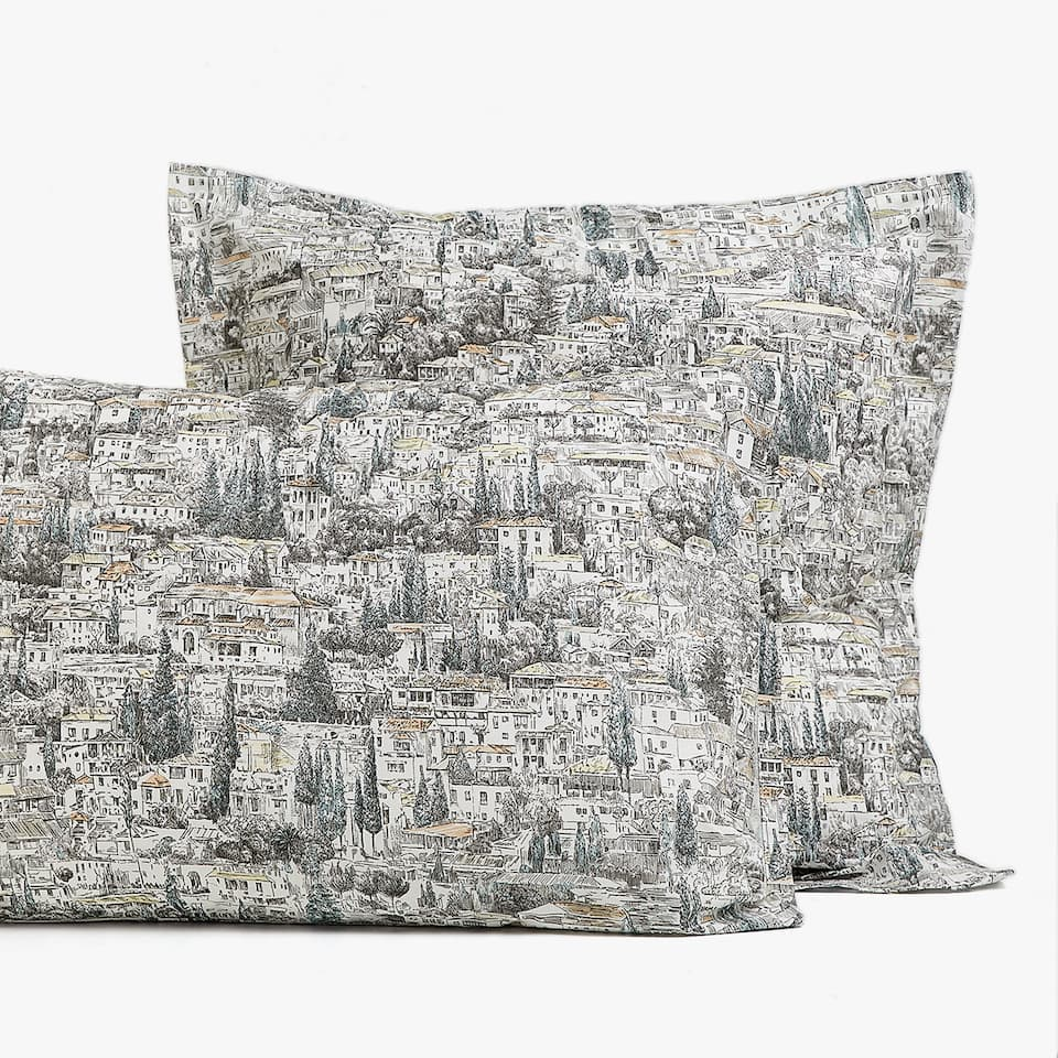 LANDSCAPE PRINT PILLOWCASE