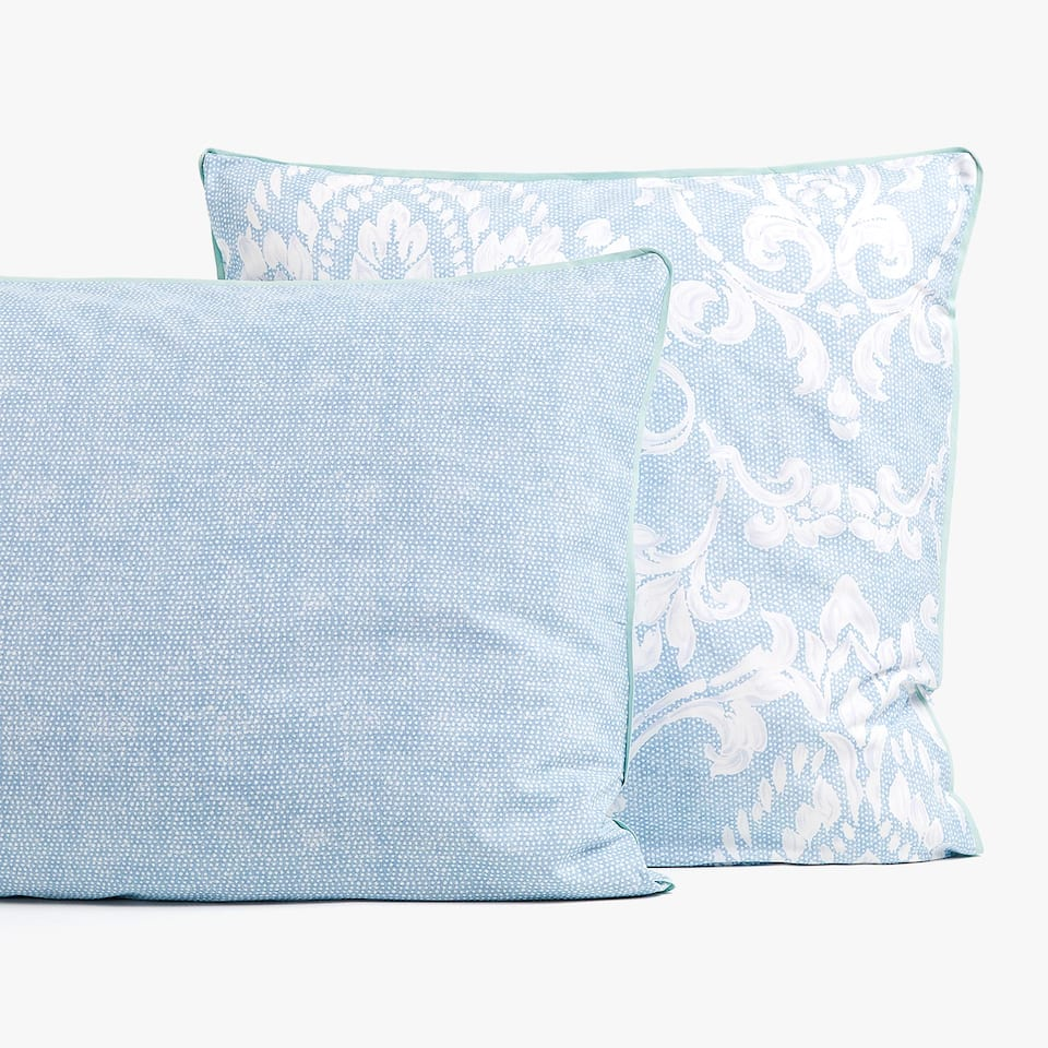 DAMASK PRINT PILLOWCASE