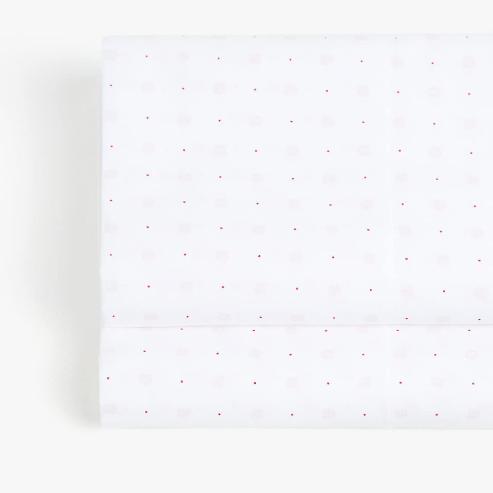 POLKA DOT PRINT TOP SHEET