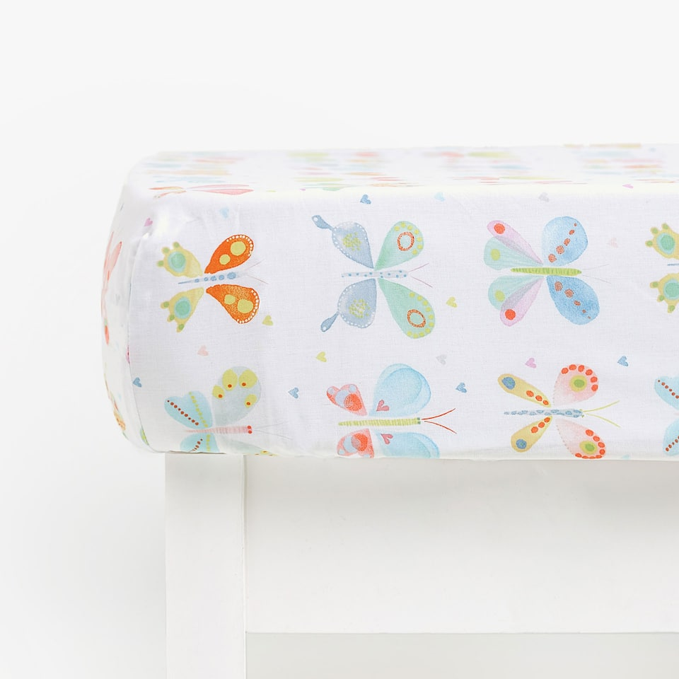 BUTTERFLY PRINT BOTTOM SHEET