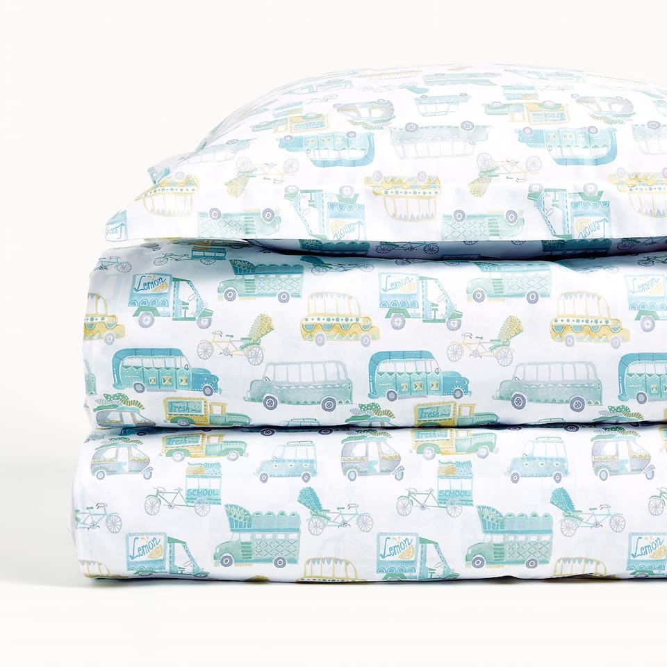 CARS PRINT DUVET COVER