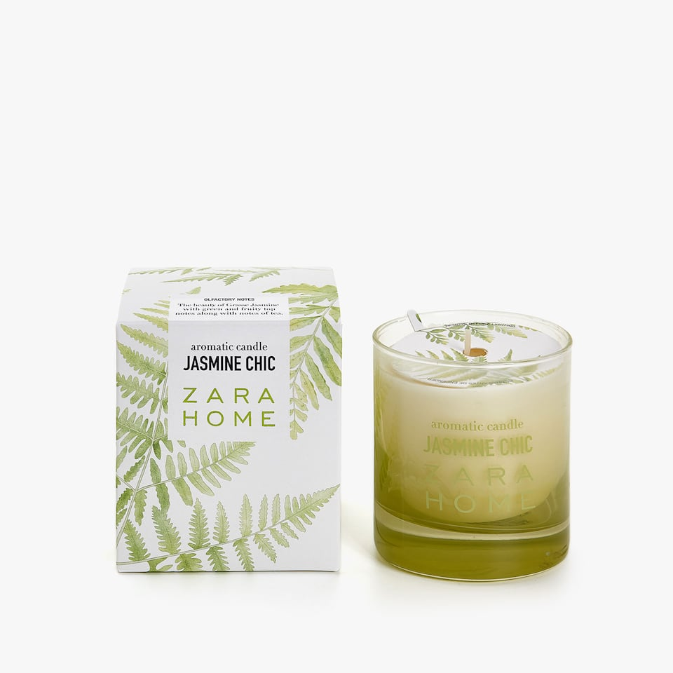 JASMINE CHIC AROMATIC CANDLE