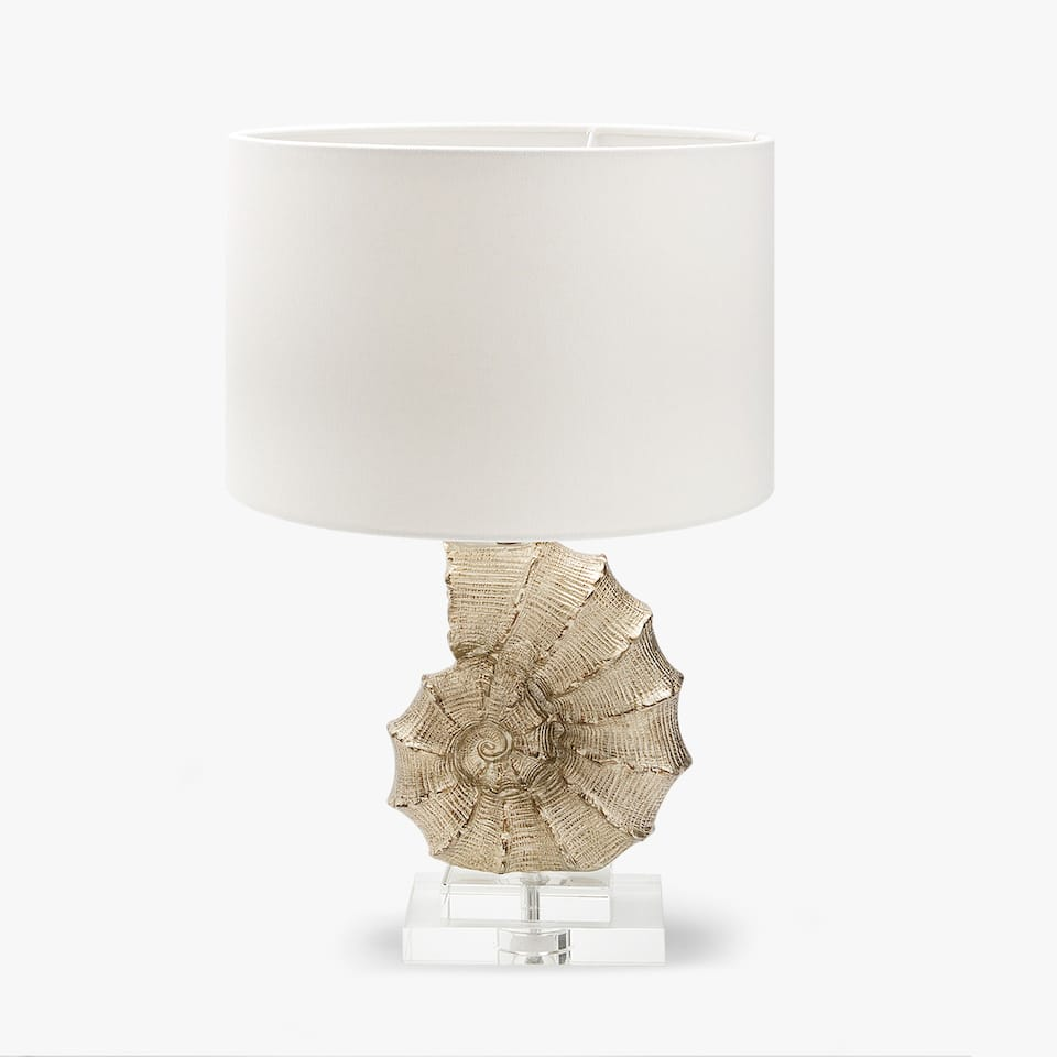 CONCH-SHAPED LAMP