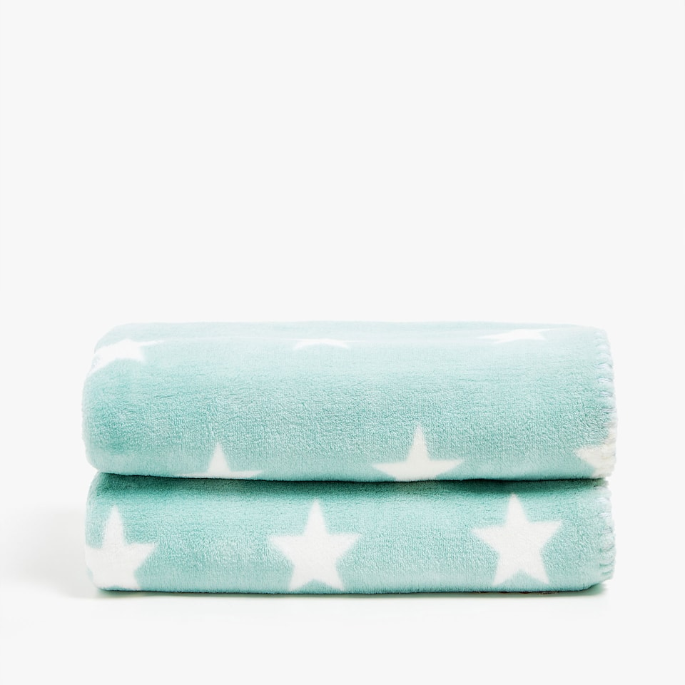 LITTLE STARS FLEECE BLANKET