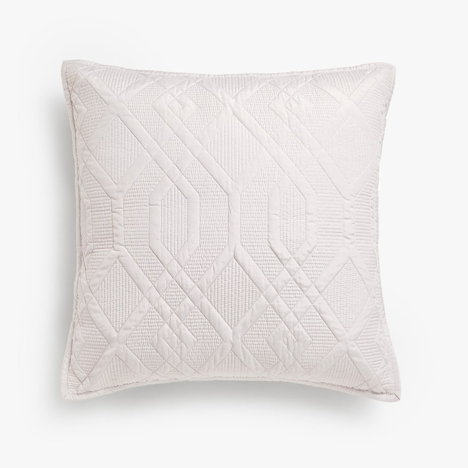 GEOMETRIC SHAPES CUSHION COVER