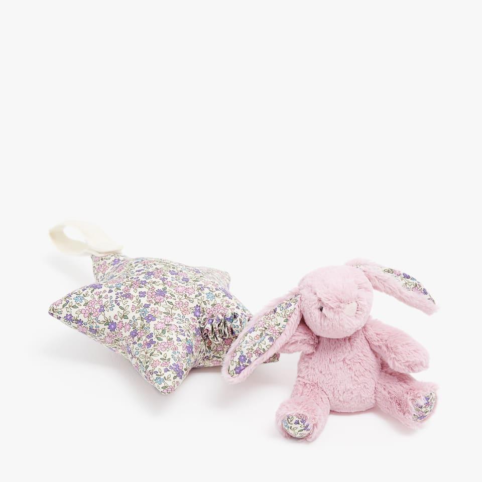 Plyšák hrací králíček