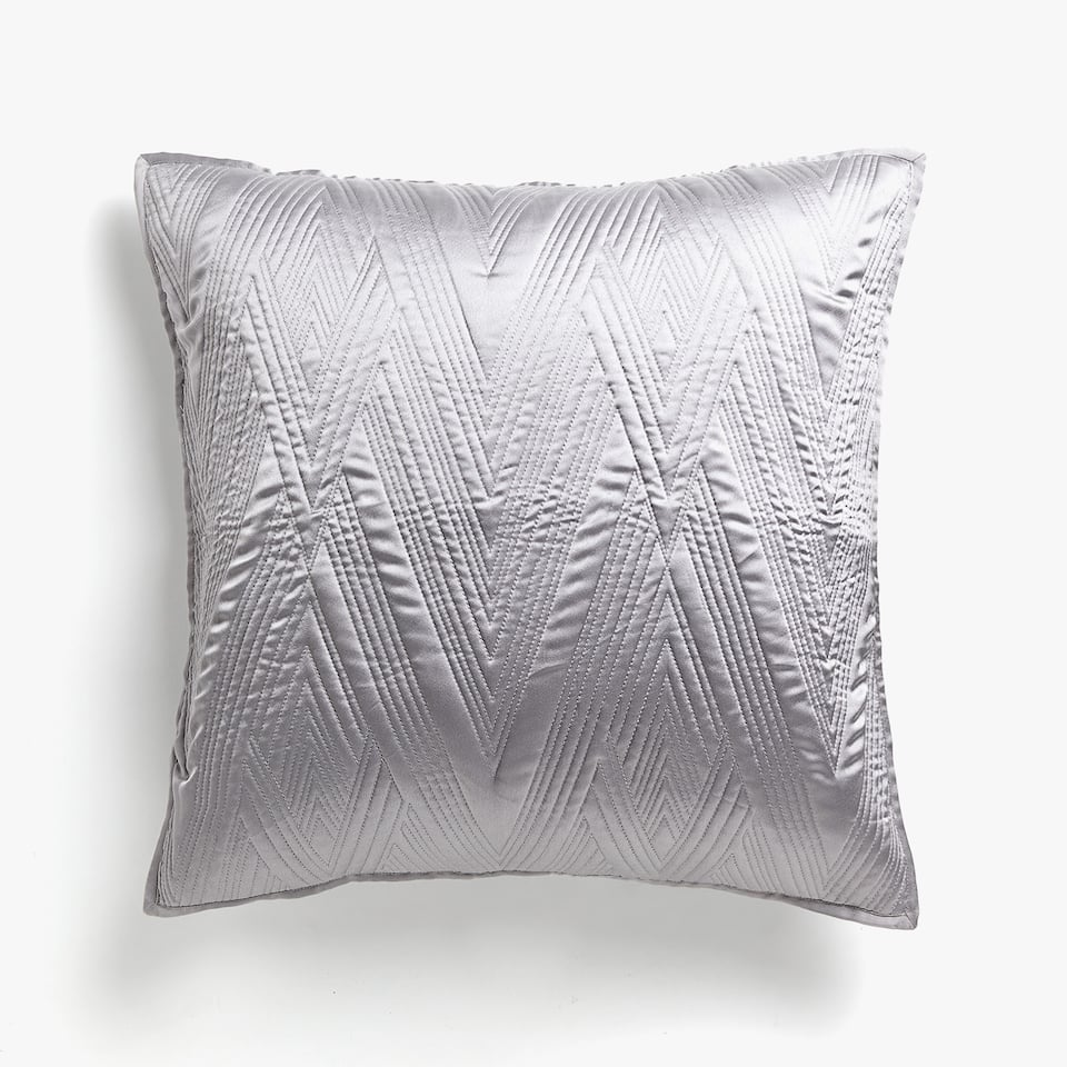 ZIGZAG DESIGN CUSHION COVER