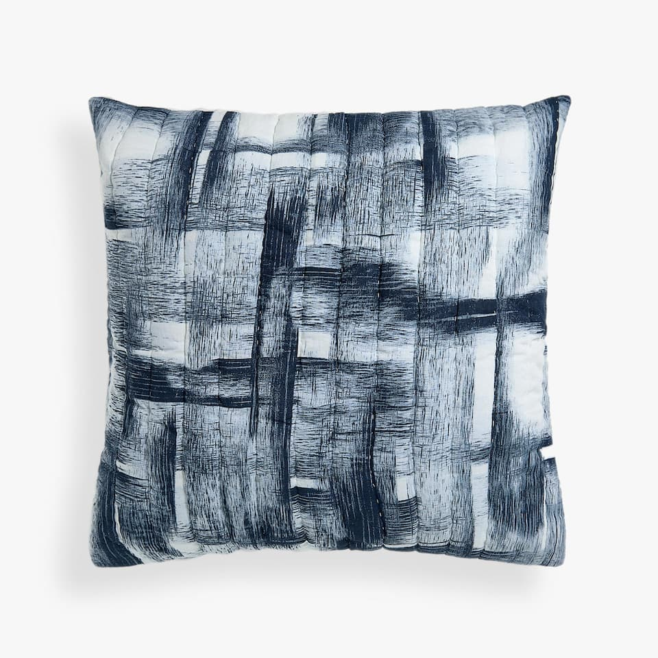 BLENDED PRINT CUSHION COVER