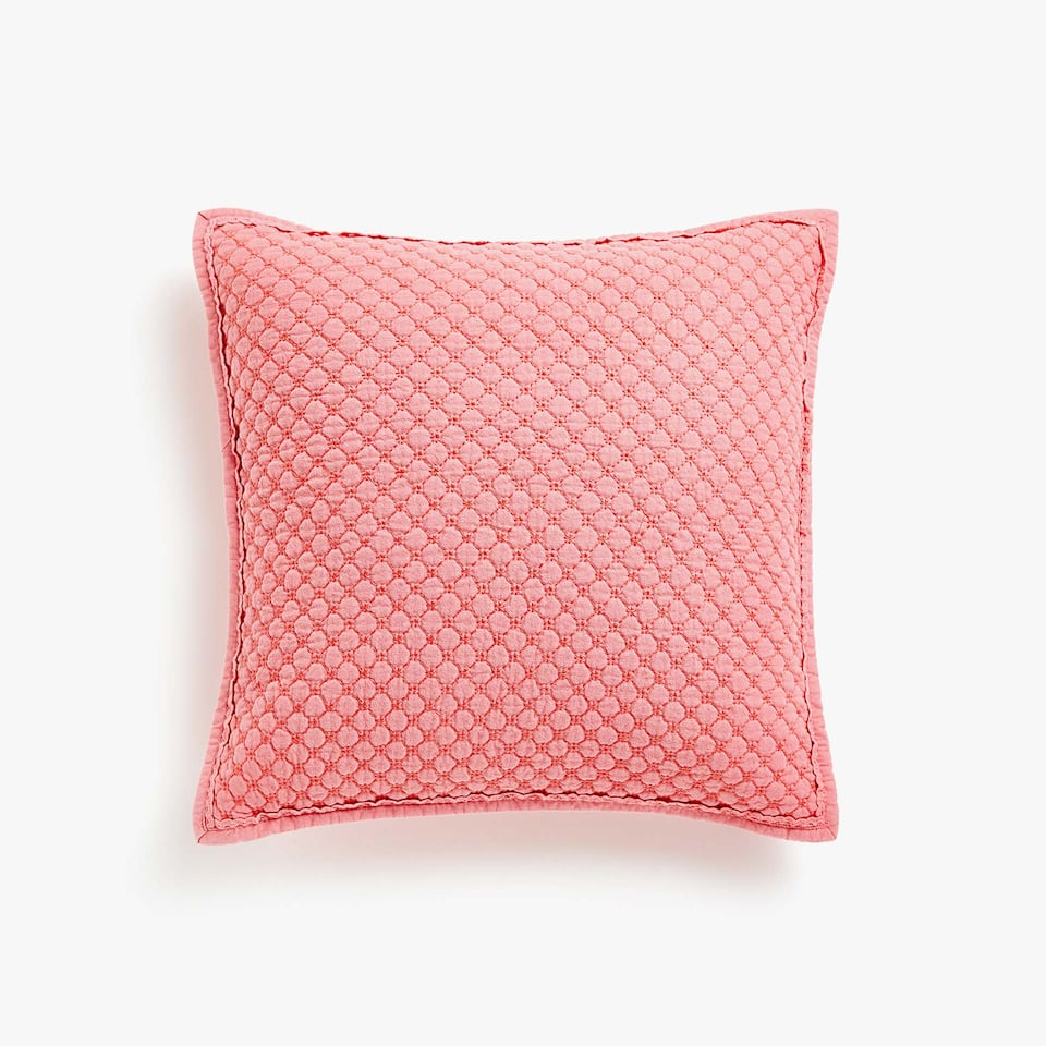 MINI POPCORN FADED COTTON CUSHION COVER