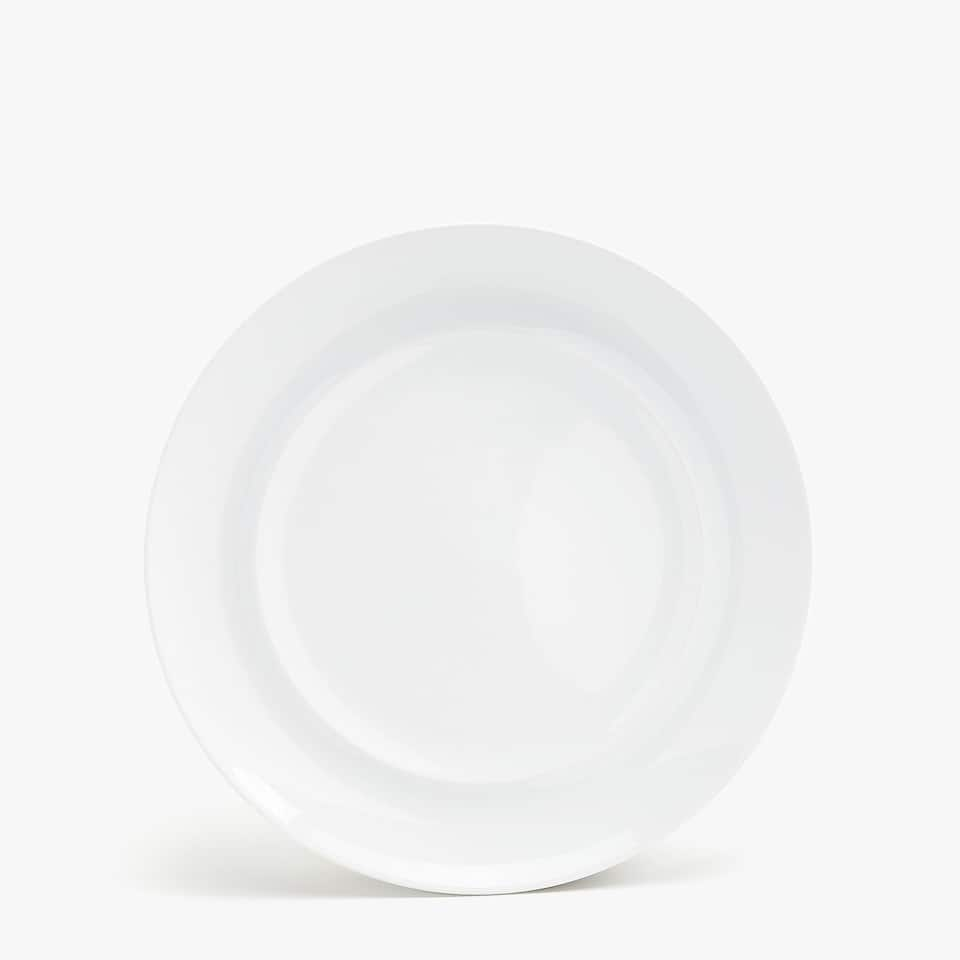 PLAIN PORCELAIN DINNER PLATE