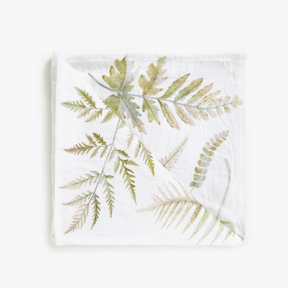 DIGITAL PRINT COTTON JACQUARD NAPKINS (SET OF 4)