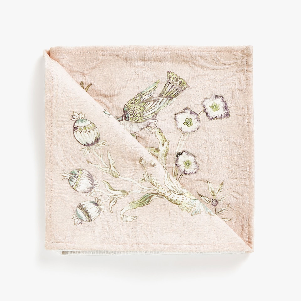 FORREST PRINT COTTON JACQUARD NAPKINS (SET OF 4)