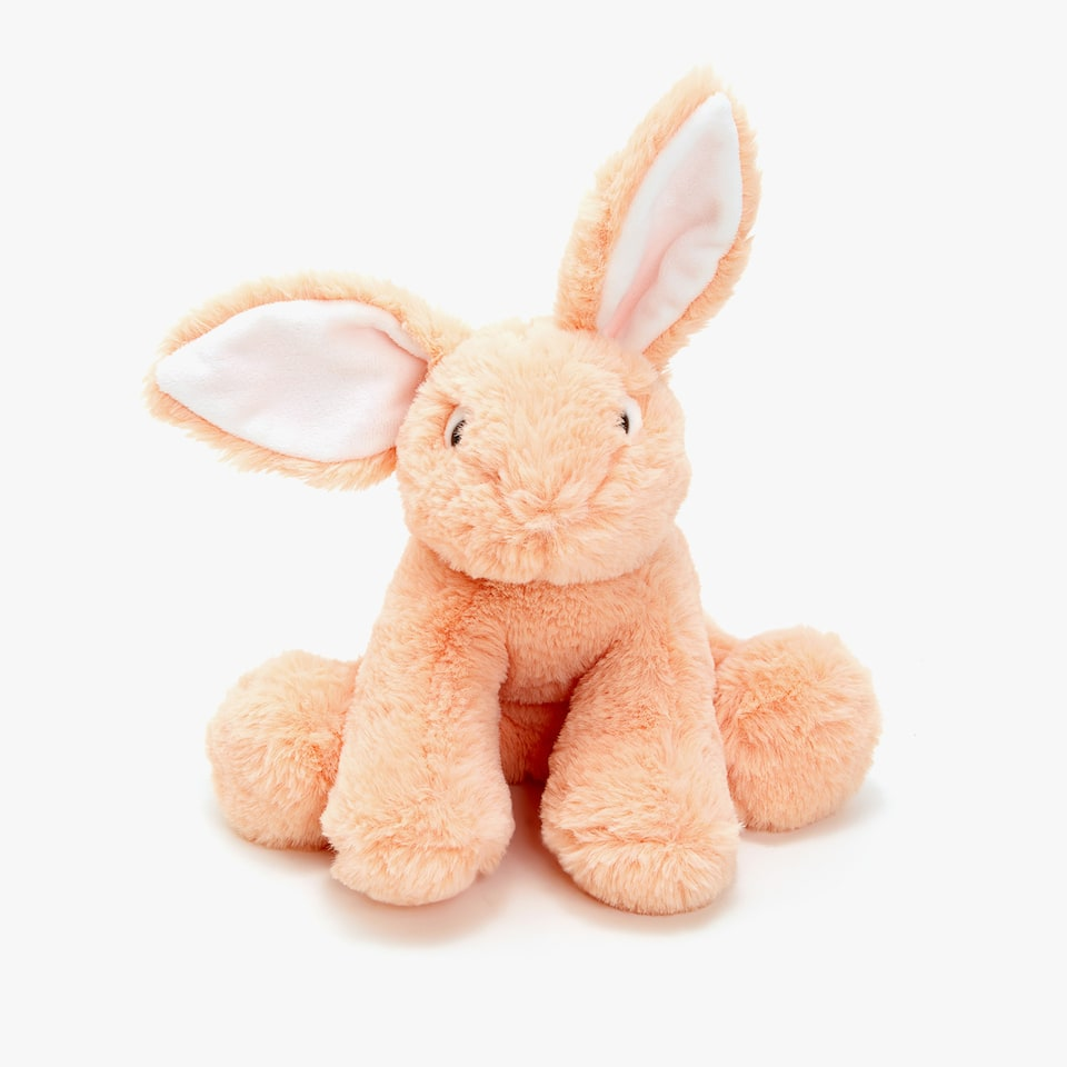 SEATED BUNNY SOFT TOY